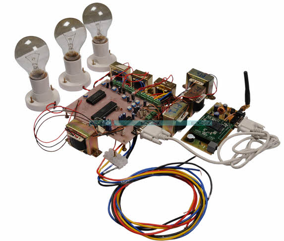 GSM Based Projects for Substation Monitoring and Controlling