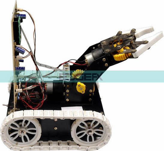 Block Diagram Of Pick N Place Robotic Arm And Movement Controlled By
