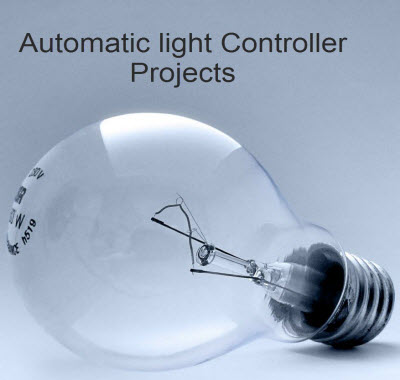 Projects on Automatic Room Light Controller with a Visitor Counter