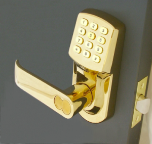 Passowrd based Door lock system