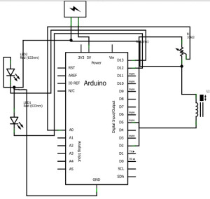 Arduino Uno with Digital Input/Output