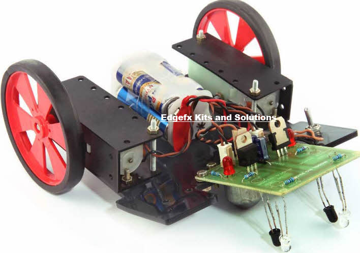 Microcontroller based Line Following Robotic Vehicle