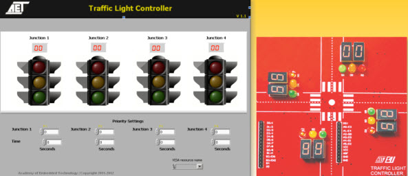 Wireless Sensors Based Traffic Light System