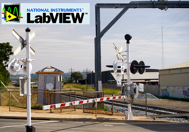 Railway Track And Gate Security System Using Labview
