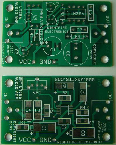 PCB Layout for LM386