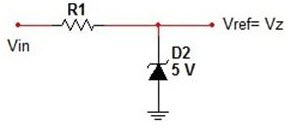 Zener Diode used for Providing Reference Voltage