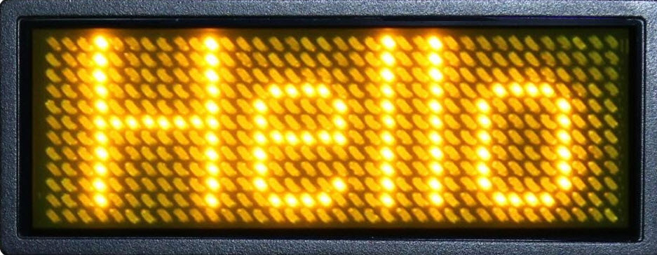 led scrolling display project working with circuit diagramscrolling led display