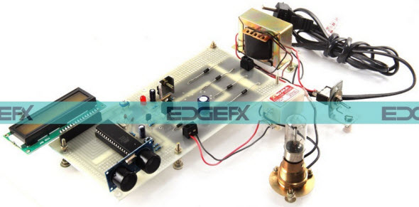 Liquid Level Controller by Ultrasonic Sensor based Project by edgefxkits.com
