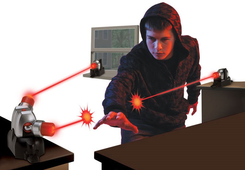 Theft Detection by Laser Sytem