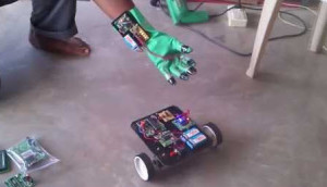 MEMS based Gesture Controlled Robot Arm Project Kit