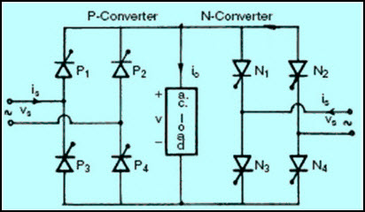 simple ac to ac converter circuit with working on Solar Inverter Wiring Diagram for simple ac to ac converter circuit diagram (cycloconverter) at frequency converter wiring diagram