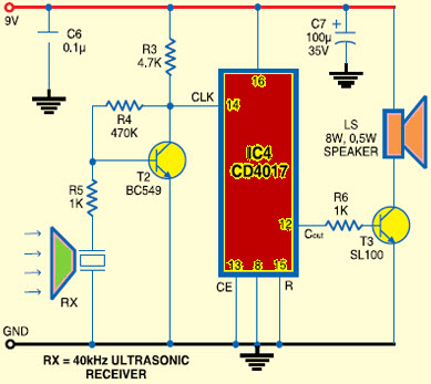 Simple Ultrasonic Wave Generator Simple Circuit Diagram - Fav Wiring