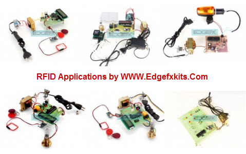 RFID based Attendance System Project Circuit and Working