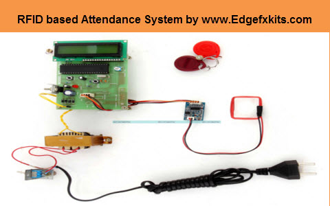 RFID based Attendance System Circuit with Working