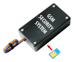 Car security system with GSM