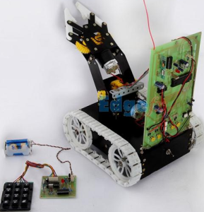 Pick and Place Remote Robot