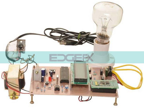 Android Application Based Remote AC Power Control with LCD Display
