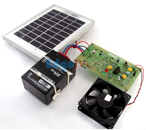 Solar Power Charge Controller Project Kit by Edgefxkits.com