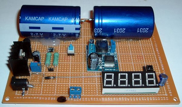 Super Capacitor Battery Charger