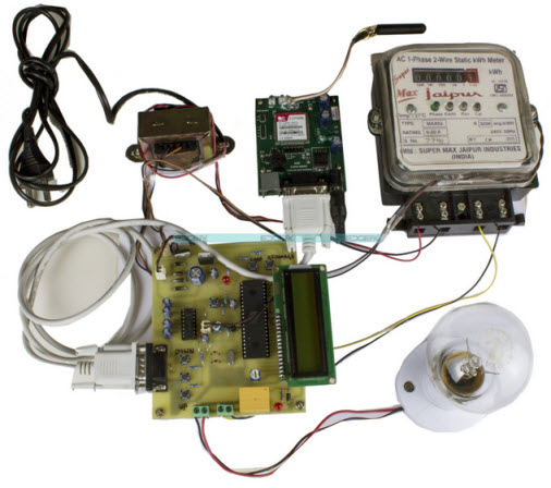 Prepaid Energy Meter Project Circuit Diagram by Edgefxkits.com