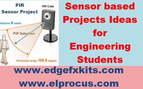 Sensor based Projects
