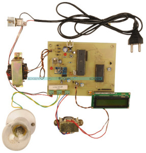 Remote Monitoring of Transformer Generator Health Over Internet Project kit by Edgefxkits.com
