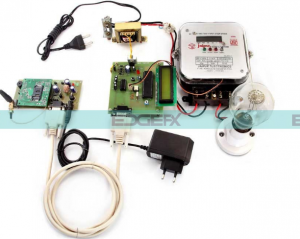 GSM Based Programmable Energy Meter Project Kit by Edgefxkits.com