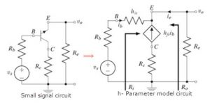 AC Modeling of Common Collector Amplifier